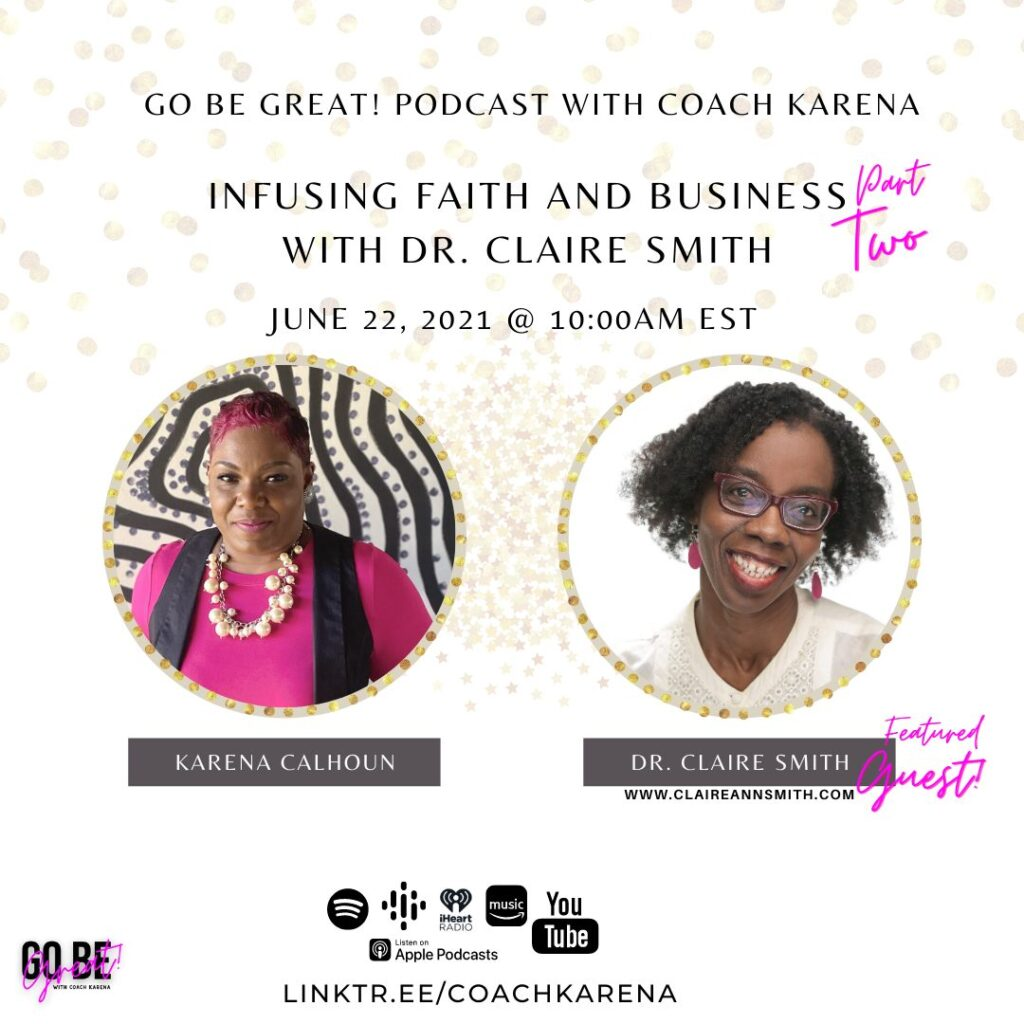 Interviews and Presentations - Infusing Faith and Business